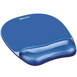Fellowes Blue Gel Mouse Pad & Wrist Rest