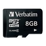 Verbatim 8 GB MicroSDHC Card Class 4