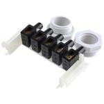 WISKA Combi Junction Box, IP66, IP67, 110mm x 110mm x 66mm
