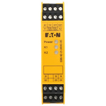 Eaton Safety Relay -  Dual Channel With 2 Safety Contacts  Compatible With Safety Switch/Interlock, Two Hand Control