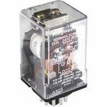 Relay,DC Operated,Dual Coil Latching,DPDT,12VDC,16 Amps,11 Pin Octal Base