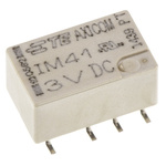 TE Connectivity DPDT Surface Mount Latching Relay - 2 A, 3V dc For Use In Automotive, Telecommunications Applications