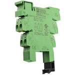 Phoenix Contact PLC-BPT Relay Socket for use with Relays 2 Pin, DIN Rail, 24V dc