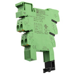 Phoenix Contact 1 Pin Relay Socket, DIN Rail, 24V dc for use with Relays