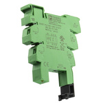 Phoenix Contact PLC-BSC Relay Socket for use with Relays 2 Pin, DIN Rail, 24V dc