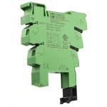 Phoenix Contact PLC-BSC Relay Socket for use with Relays 1 Pin, DIN Rail, 24V ac/dc