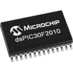 DSPIC30F2010-20I/SO Microchip DSPIC, 16bit Digital Signal Processor 40MHz 12 kB Flash 28-Pin SOIC