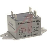 Relay; 24 to 280 VAC; Solid State; 6; SPST-NO; 60, 150 A; Panel Mount; 6 mA