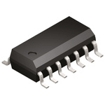 ADCMP393ARZ Analog Devices, Quad Comparator, Open Drain O/P, 0.15/1.1μs Rise/Fall, 2.3 → 5.5 V 14-Pin SOIC