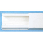 Legrand Miniature PVC White Mini Trunking, W32 mm x D20mm, L2m, PVC