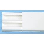 Legrand White Mini Trunking, W12.5 mm x D32mm, L2.1m, PVC