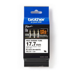 BROTHER HSe-241 Heat Shrink Cable Marker ,White ,5.4 → 10.6mm Dia. Range