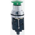 Norgren Push Button 3/2 Pneumatic Manual Control Valve 03 Series