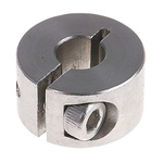 Huco Collar One Piece Clamp Screw, Bore 6mm, OD 16mm, W 9mm, Stainless Steel
