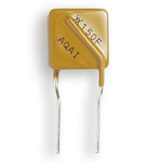 Littelfuse 0.15A Hold current, Radial Resettable Wire Ended Fuses, 250 V dc, 600 V ac