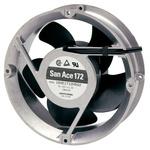 Sanyo Denki, 24 V dc, dc Axial Fan, 172 (Dia.) x 51mm, 509.7m³/h, 31.2W