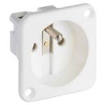 ABL Sursum 1 Gang Plug Socket, 16A, Type E - French