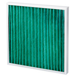 Camfil AeroPleat Green Pleated Panel Filter, Cotton, Synthetic Fibre Media, G4 Grade, 592 x 592 x 48mm, Media Area 1.2m²