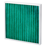 Camfil AeroPleat Green Pleated Panel Filter, Cotton, Synthetic Fibre Media, G4 Grade, 592 x 287 x 48mm, Media Area 0.6m²
