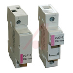 Altech 30A Rail Mount Fuse Holders With Indicator, 3P, 600V ac/dc