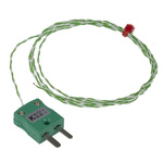 RS PRO Type K Thermocouple 1m Length, 1/0.2mm Diameter → +250°C