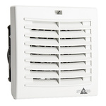STEGO Filter Fan92 x 92mm Face Dimensions, 17m³/h, DC Operation, 24 V dc, IP54