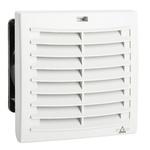 STEGO Filter Fan124 x 124mm Face Dimensions, 63m³/h, DC Operation, 24 V dc, IP54