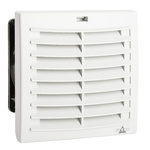 STEGO Filter Fan124 x 124mm Face Dimensions, 63m³/h, DC Operation, 48 V dc, IP54