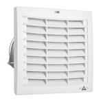 STEGO Filter Fan176 x 176mm Face Dimensions, 156m³/h, DC Operation, 24 V dc, IP54