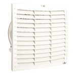 STEGO Filter Fan291 x 291mm Face Dimensions, 599m³/h, AC Operation, 230 V ac, IP54