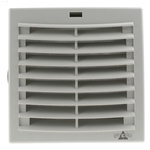STEGO Filter Fan152 x 152mm Face Dimensions, 42m³/h, AC Operation, 230 V ac, IP54