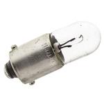 BA9s Automotive Incandescent Lamp, Clear, 12 V