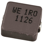 Wurth WE-LHMI Series 2.2 μH ±20% Composite Iron Powder Multilayer SMD Inductor, 4020 Case, SRF: 49MHz 3.25A dc 61mΩ Rdc