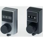 Vishay Potentiometer Knob, Dial Type, Silver, 6mm Shaft