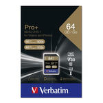Verbatim 64 GB SDXC SD Card