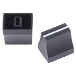 Sifam Potentiometer Knob, Slide Type, Black