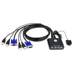 Aten 2 Port USB VGA KVM Switch
