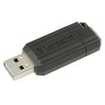 Verbatim 64 GB PinStripe USB Stick