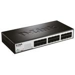D-Link, 24 port Unmanaged Ethernet Switch, Desktop
