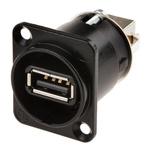 Neutrik USB A Female to USB B Female Network Adapter