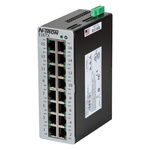 Red Lion Ethernet Switch, 8 RJ45 port DIN Rail Mount