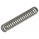 RS PRO Steel Alloy Compression Spring, 23.5mm x 3.7mm, 1.05N/mm