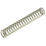 RS PRO Stainless Steel Compression Spring, 23.5mm x 3.7mm, 0.87N/mm