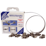 Jubilee 11 Piece Stainless Steel Worm Drive Hose Clip Kit
