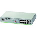 Allied Telesis, 8 port Unmanaged Gigabit Switch, Desktop, Rack Mount