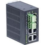 Wieland, 6 port Unmanaged Network Switch, DIN Rail Mount No PoE