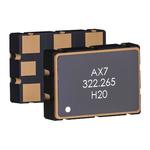 Abracon, 156.25MHz XO Oscillator, ±25ppm LVDS 6-SMD Compatible AX7DBF3-156.2500C