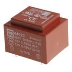 12V ac 2 Output Through Hole PCB Transformer, 1.5VA