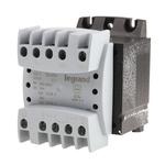 Legrand 160VA DIN Rail Panel Mount Transformer, 215V ac, 230V ac, 245V ac, 385V ac, 400V ac, 415V ac Primary 2 x, 24V