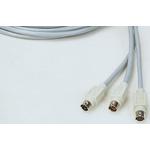 CORDON MINIDIN 6 M/M 6M 6m 6-Pin Male Mini-DIN to 6-Pin Male Mini-DIN Audio Video Cable Assembly
